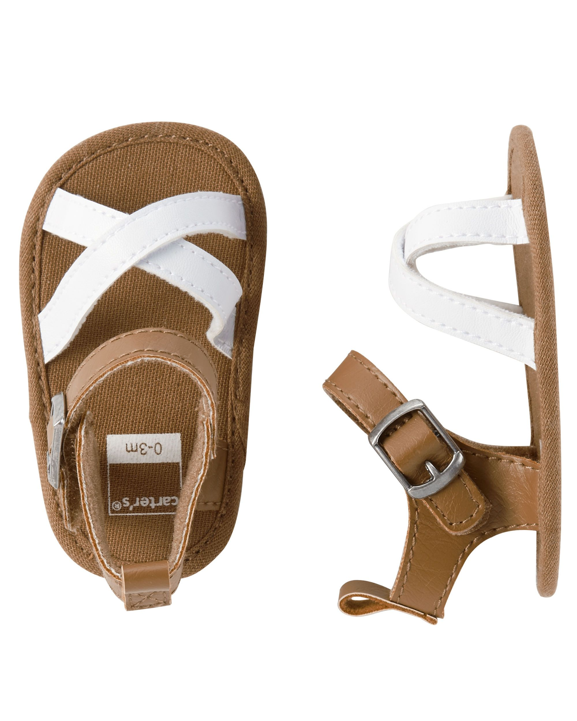 43f8cabbfbc4 Baby Girl Carter s Strappy Sandals