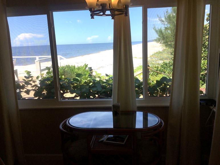 Room 3 view at the Pearl Beach Inn on Manasota Key Florida ...
