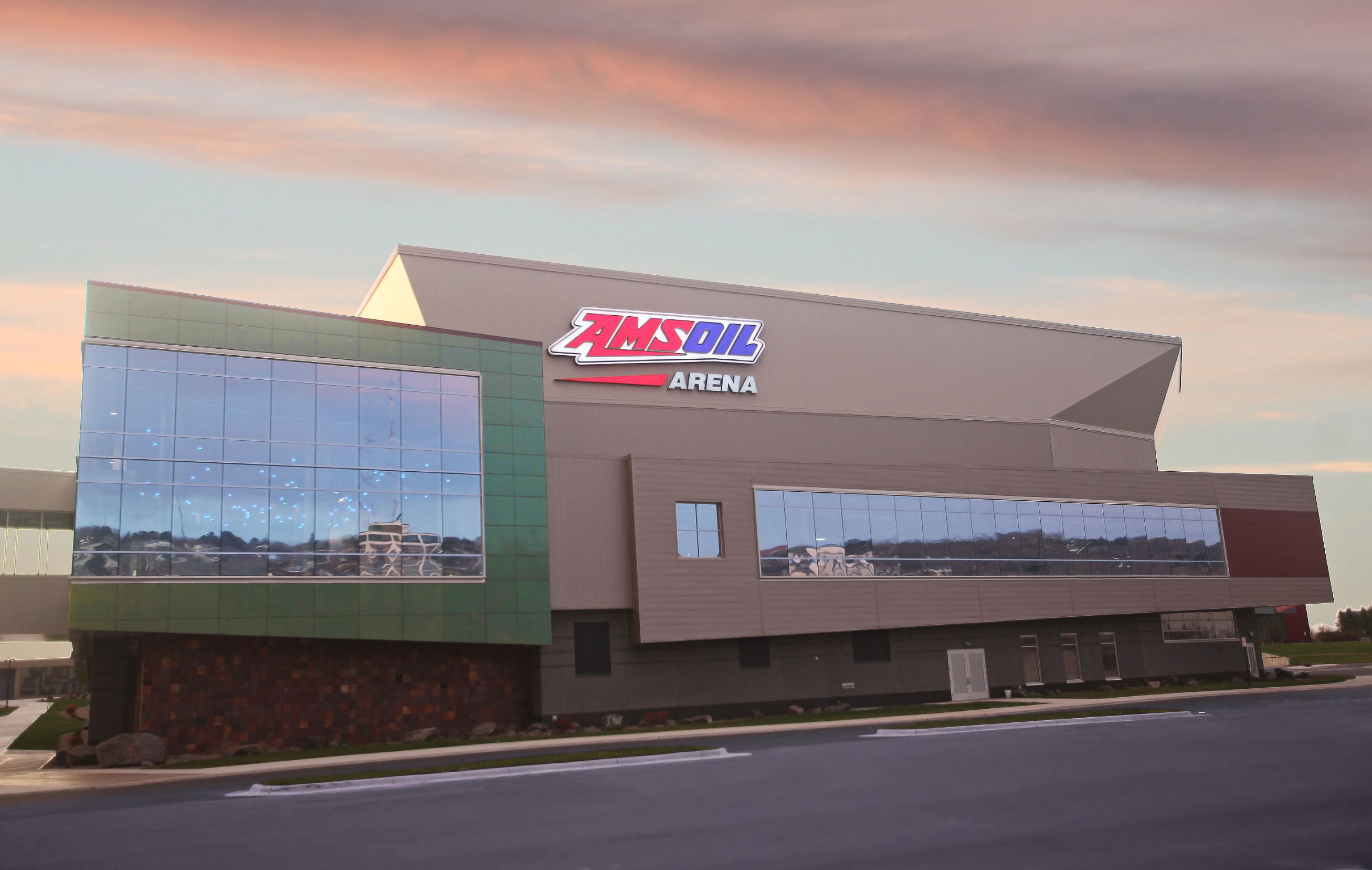 Amsoil Arena Taken Shortly After The Grand Opening Decc