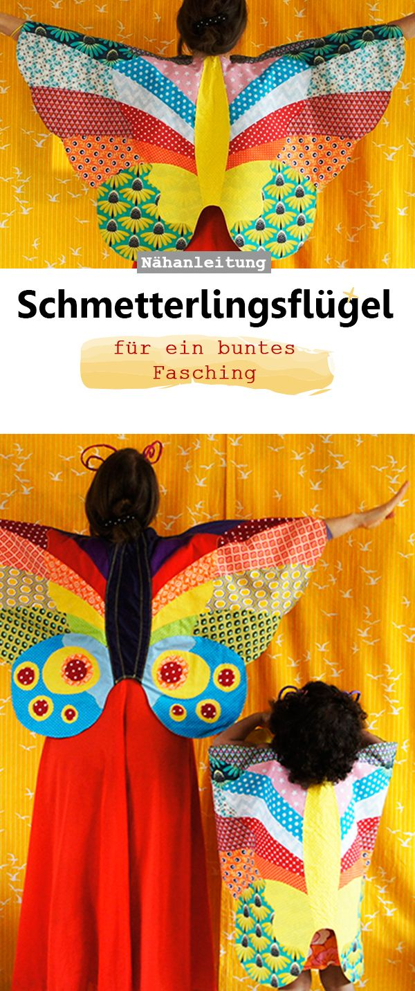 Kostüm Schmetterlings-Umhang | Schmetterling kostüm kind ...
