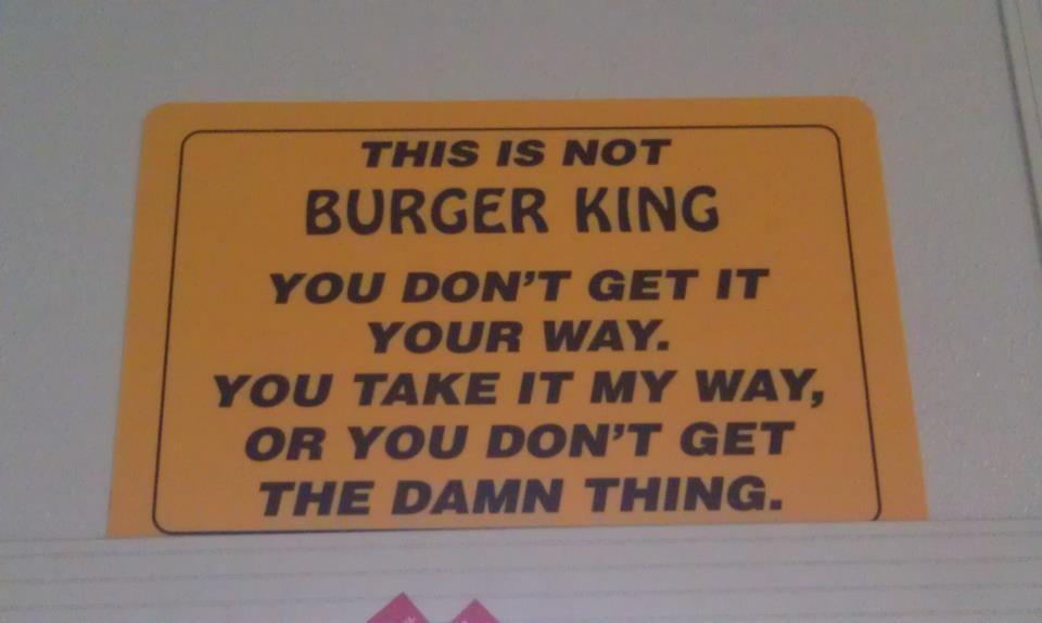 Burger king inspirational quotes motivation