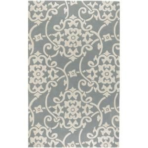 Artistic Weavers Meredith Silver Gray 3 ft. 6 in. x 5 ft. 6 in. Area Rug - Model # MERE-8828 at The Home Depot