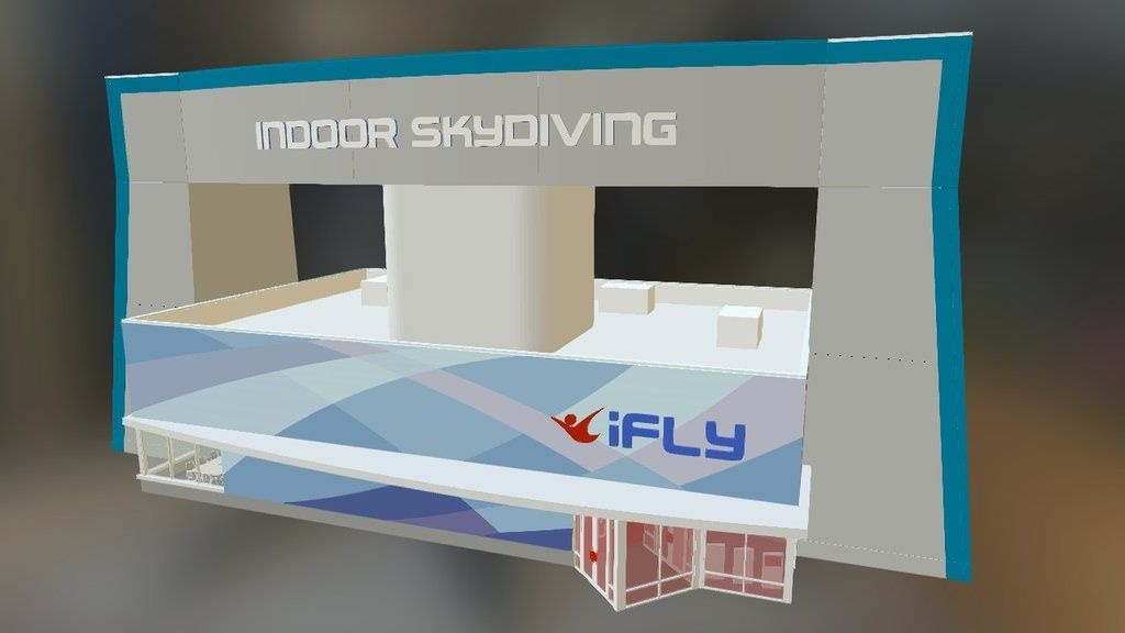 iFLY Indoor Skydiving Free Standing Retail Location  Prototype 1