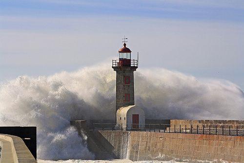 Farol da Foz do Douro-Porto-Portugal