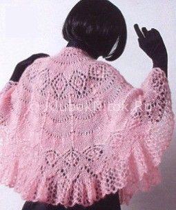 Розовая  крючком схемы
