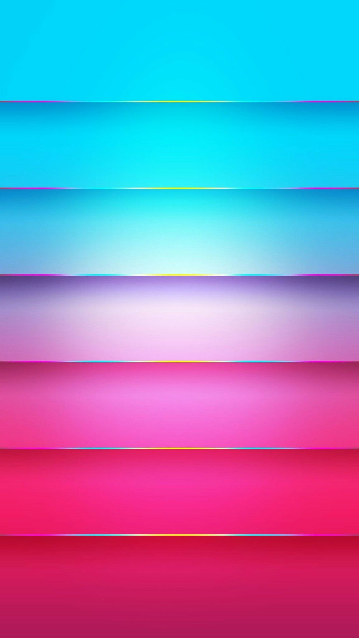 ColorBlocking Neon Wallpaper Wallpaper shelves