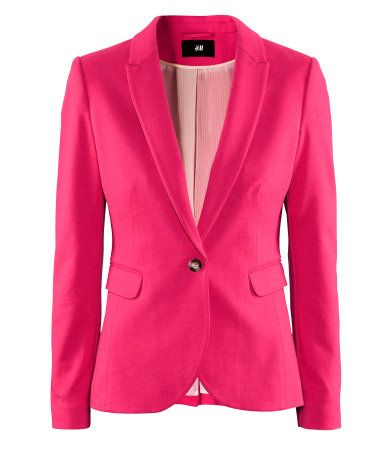 Love the colour! Blazer