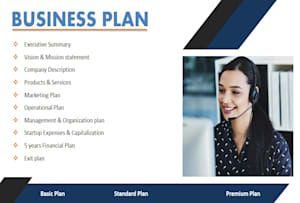 Business plan writer resume
