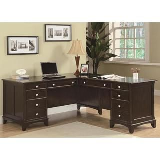 Shop for Gilson L-shaped Desk and File Cabinet. Get free shipping ...