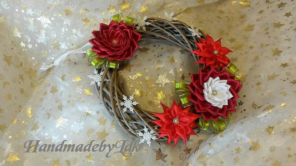 Dekorácie - Prútený vianočný venček - 5993748_
