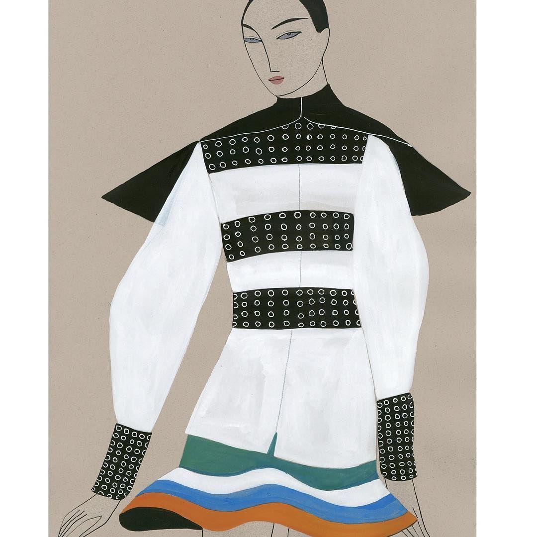 JW ANDERSON AW16 #jwanderson #jwandersonaw16 #fashionillustration @jw_anderson @jonathan.anderson