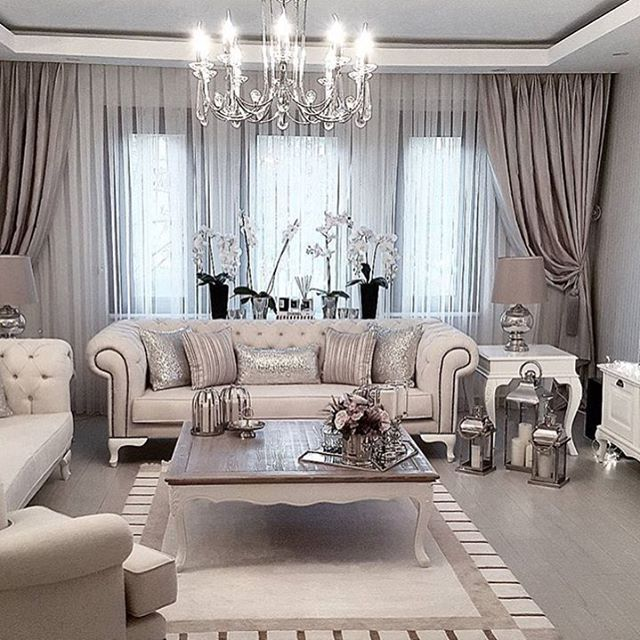 Luxury Homes Interior Decoration Living Room Designs Ideas: Fancy Living Rooms, Glam Living Room, Luxury Home
