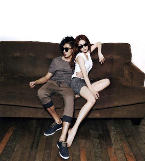 hyuna & yoo ah in