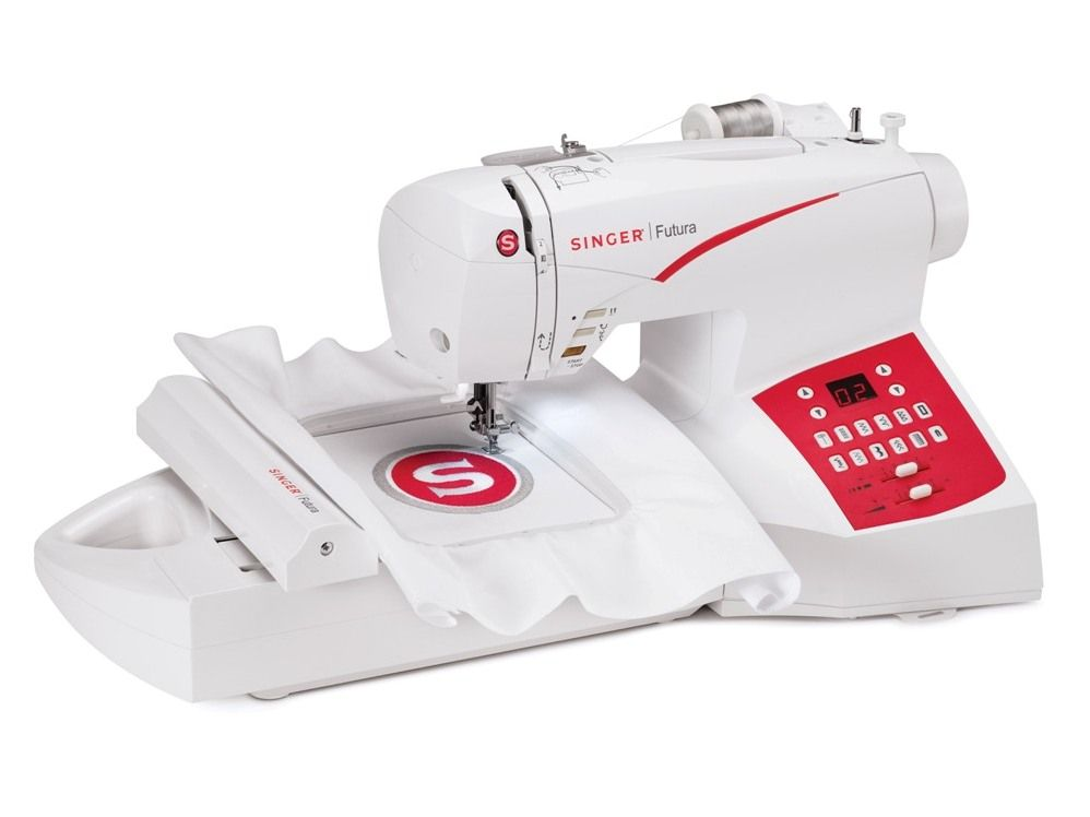 Ideal For Both Sewing And Embroidery This Easytouse Machine Stunning Singer Futura Ses1000 Embroidery Sewing Machine
