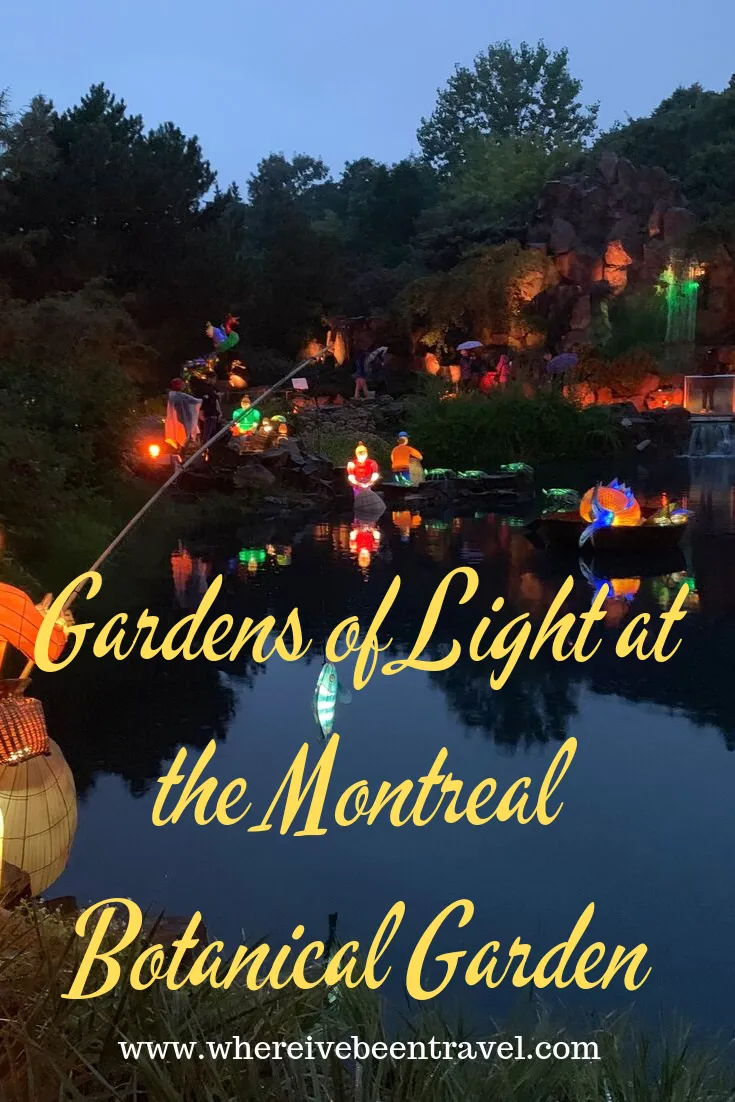 Montreal MustSee Gardens of Light at the Botanical