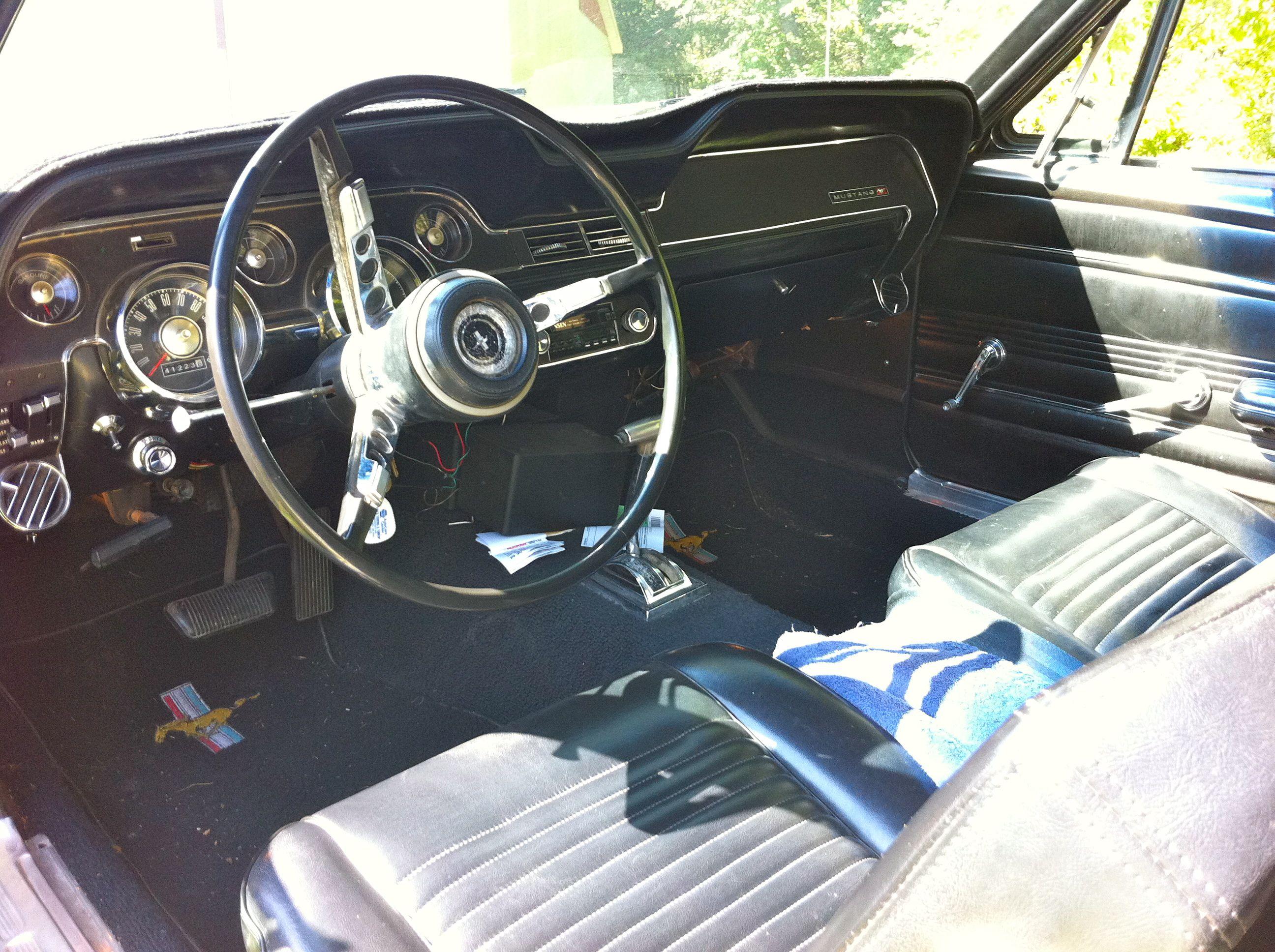 Interior of my Dream car