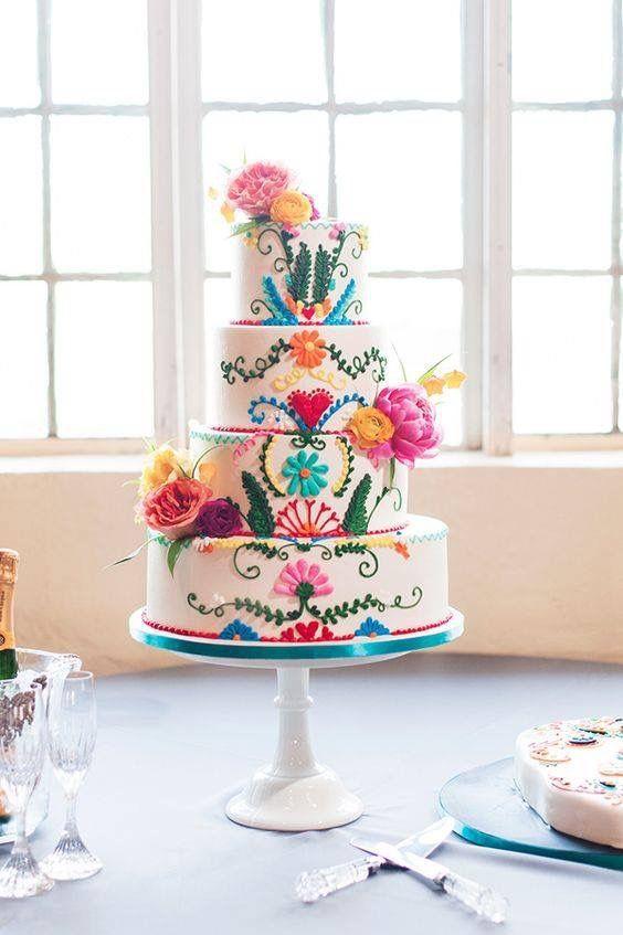 Boho Cake Cumple Mami Pinterest Boho Cake And Mexicans