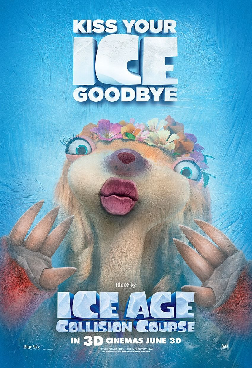 Ice Age Collision Course Poster 9 | Posters in 2019 | Ice