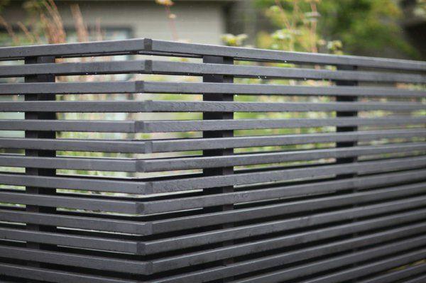 moderne architektur zaunentscheidungen Backyard \ Garden - gartenzaun blickdicht metall