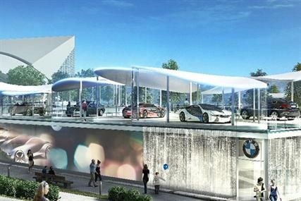 Bmw Unveils Plans For Floating Olympic Showroom Created