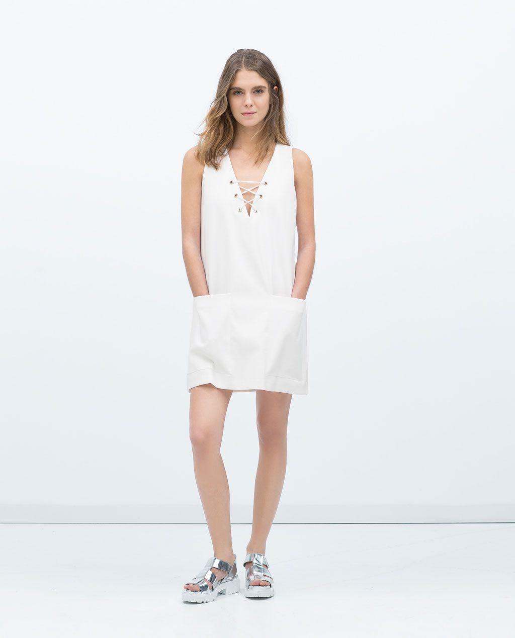 Maxi dress zara 8342