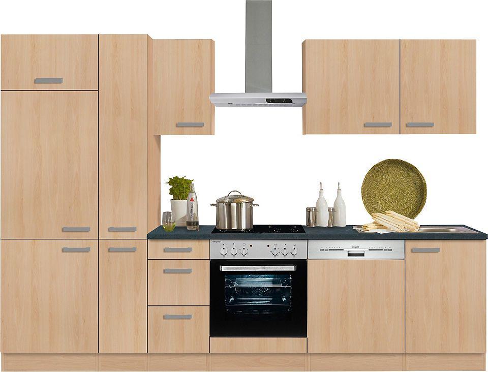 Optifit Küchenzeile mit E-Geräten »Odense« , Breite 300 cm Jetzt ... | {Küchenzeile bestellen 30}