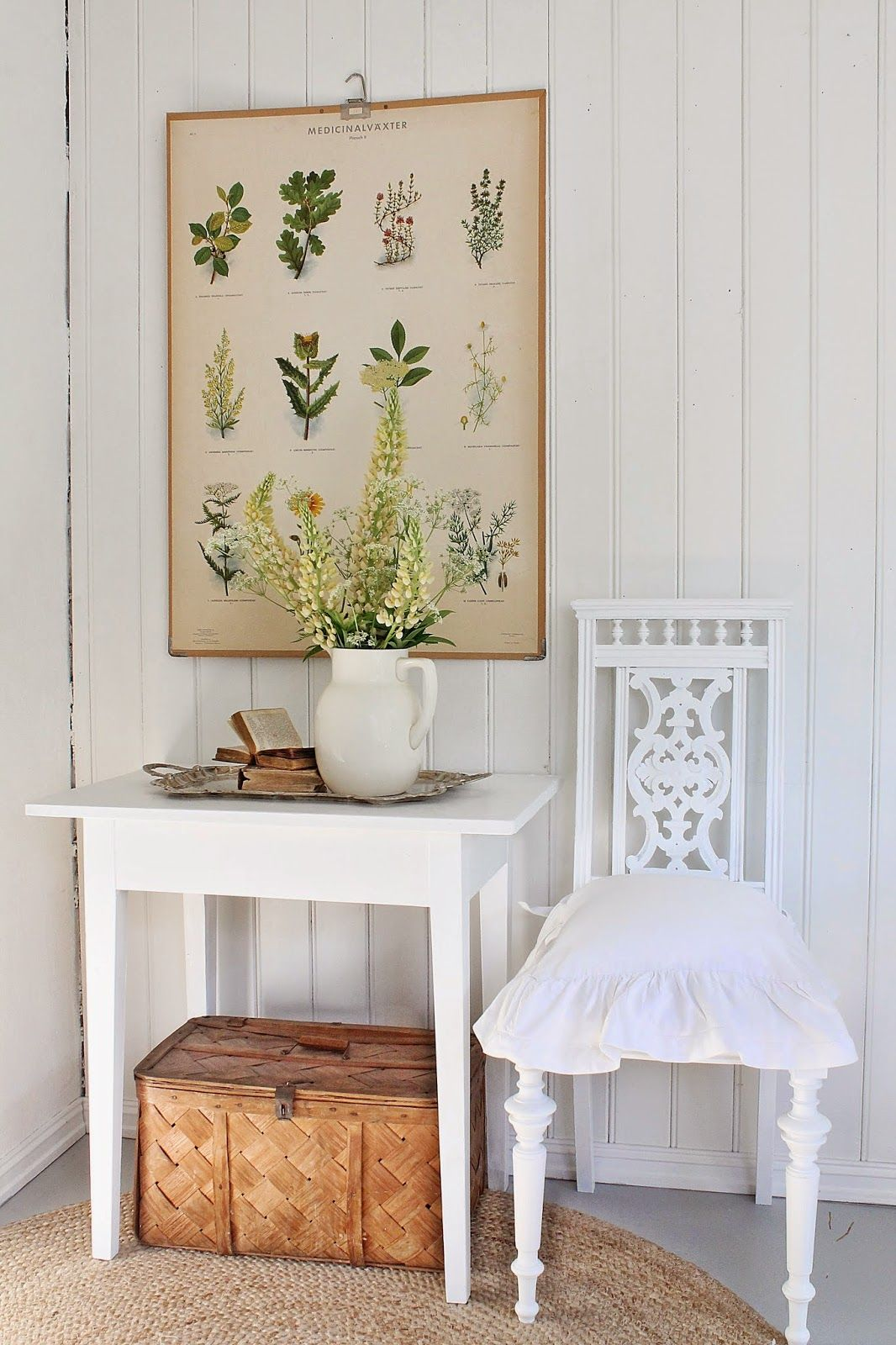 VIBEKE DESIGN: White and beautiful .. finally!
