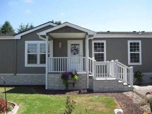 Dede S Beautiful 1995 Double Wide Remodel Mobile Home Exteriors