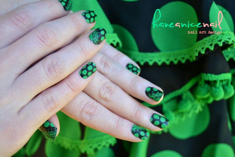 Feria Sevilla Nail Art | Nails | Pinterest