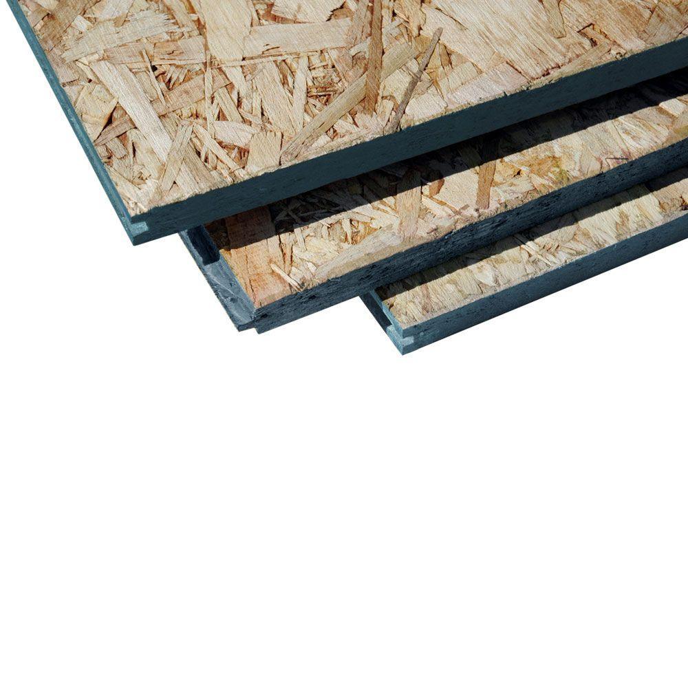 23 32 In 4 Ft X 8 Ft T G Premium Subflooring 486701 The Home Depot In 2020 Home Depot Plywood Subfloor The Home Depot