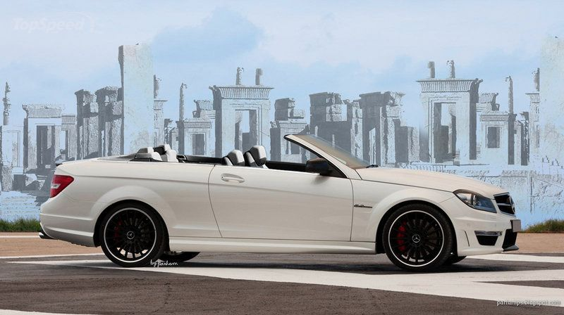 Mercedes C-class Convertible... expected in 2014. Figured as much since they did a coupe. Looks great!