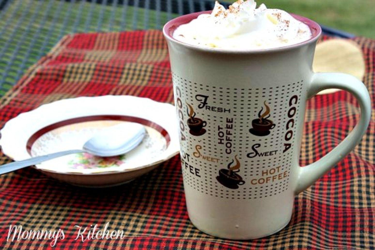 Copy cat starbucks white chocolate mocha recipe with