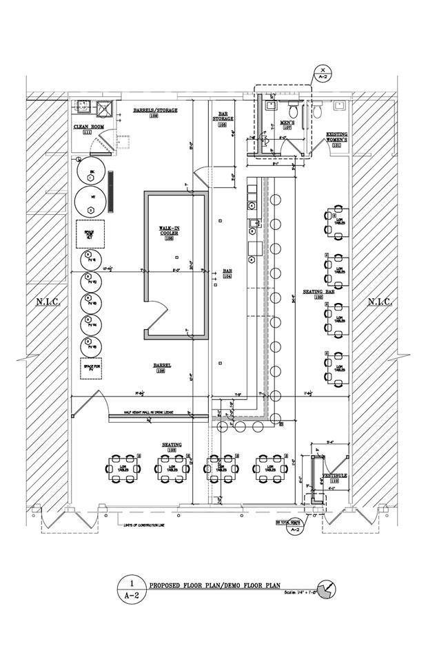 Microbrewery design plan google search brew pinterest for Brewery floor plan