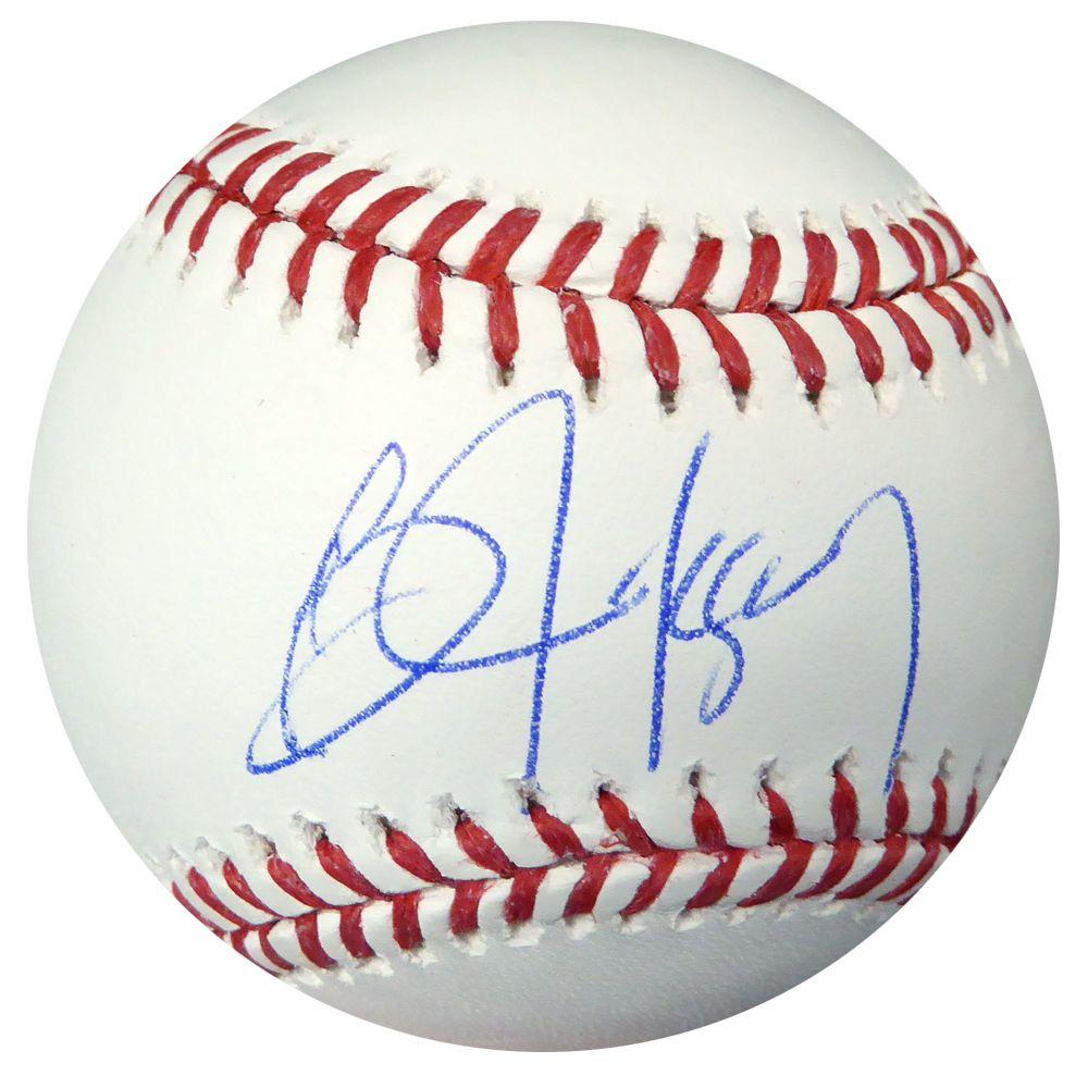 Bo Jackson Autographed Official Mlb Baseball Kansas City Royals Psa Dna Bo Jackson Kansas City Royals Mlb Baseball