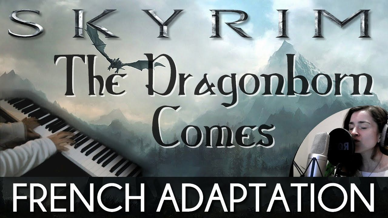 ♈ [French] The Dragonborn Comes - Skyrim (feat. PianoKad) [In the Style ...