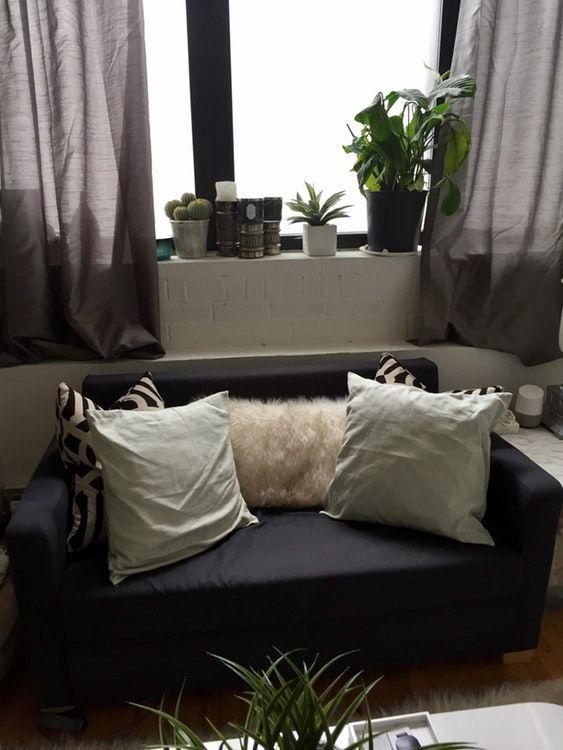 ikea solsta sleeper sofa little ladies space rh pinterest cl