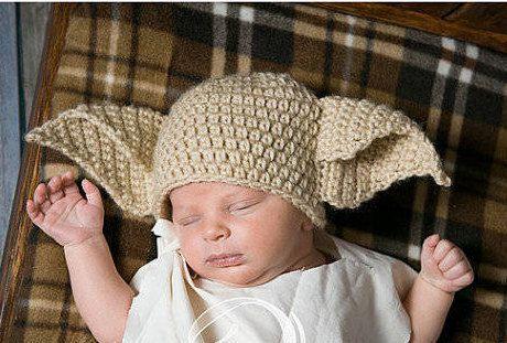 House Elf Dobby Crochet Hat Beanie Wig Costume Harry Potter  b3d1f0d5298