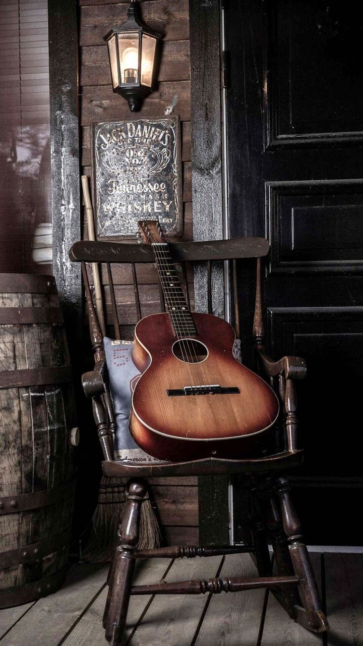 Cant Get Any More Country Than This Guitar Wallpaper Iphone Music Background