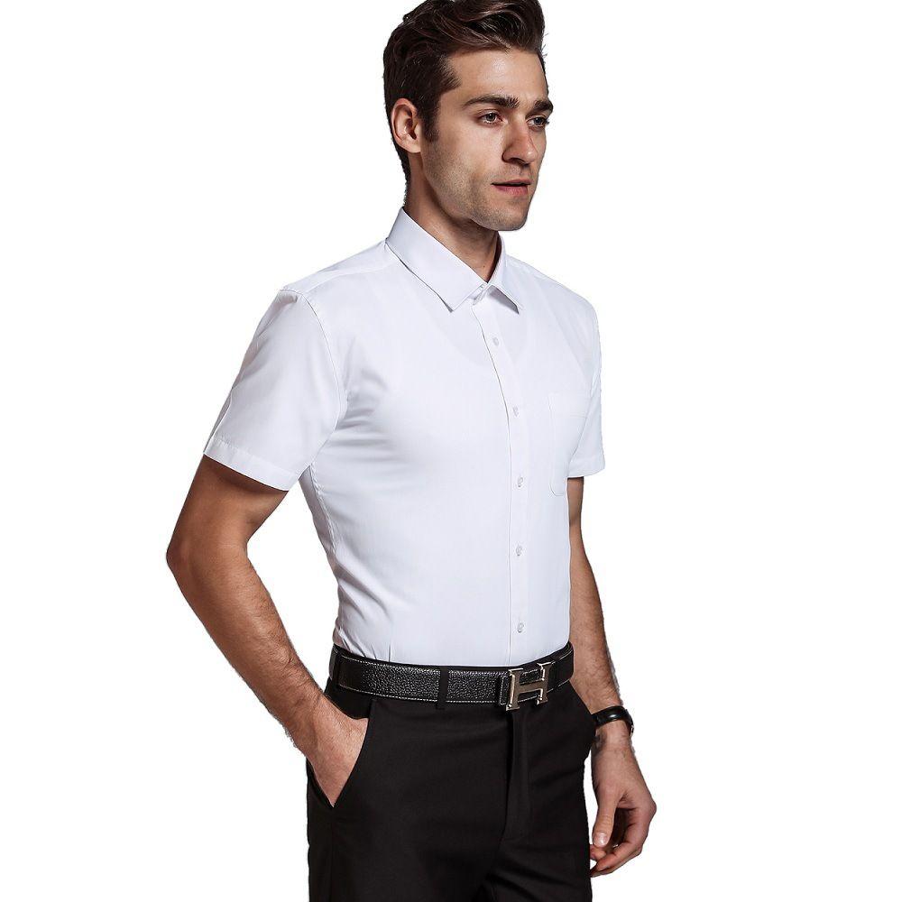 Click to buy ucuc summer fashion short sleeve mens shirts casual