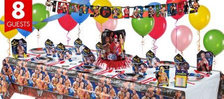 Wwe Party Supplies Wwe Birthday Party City 29 99 Wwe