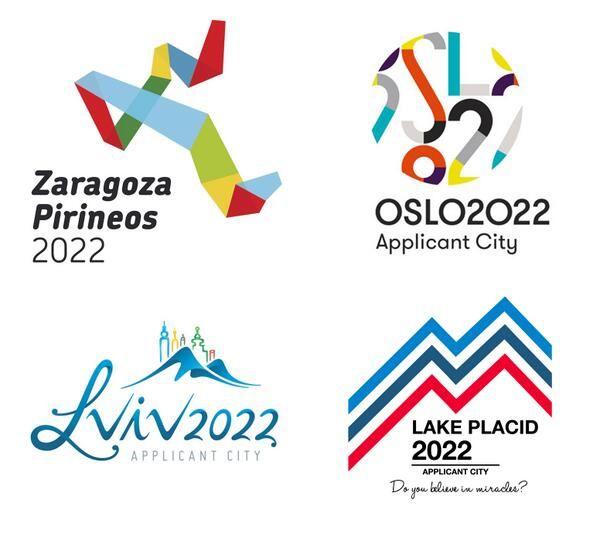 Los Logos De Las Ciudades Candidatas Para Los Juegos Olimpicos De