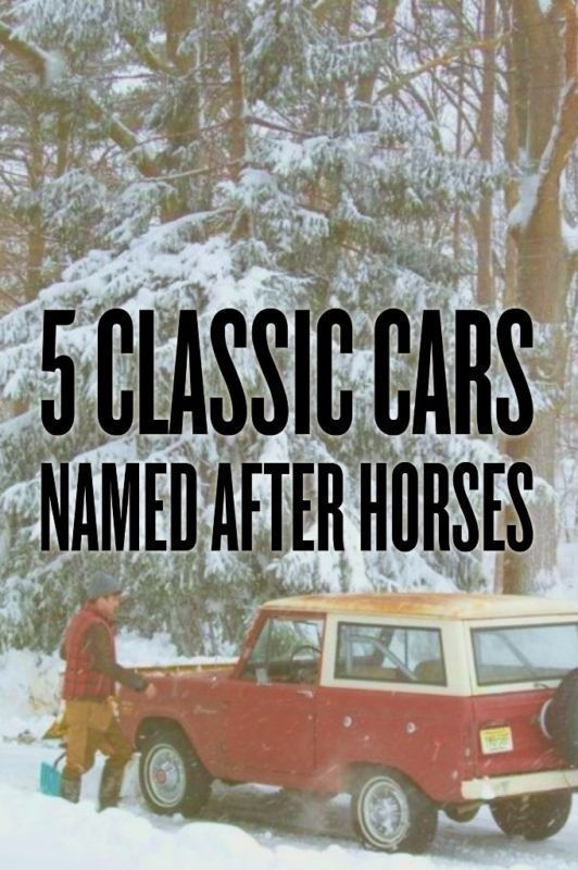5 Classic Cars Named After Horses Classic Cars Classic Ebay