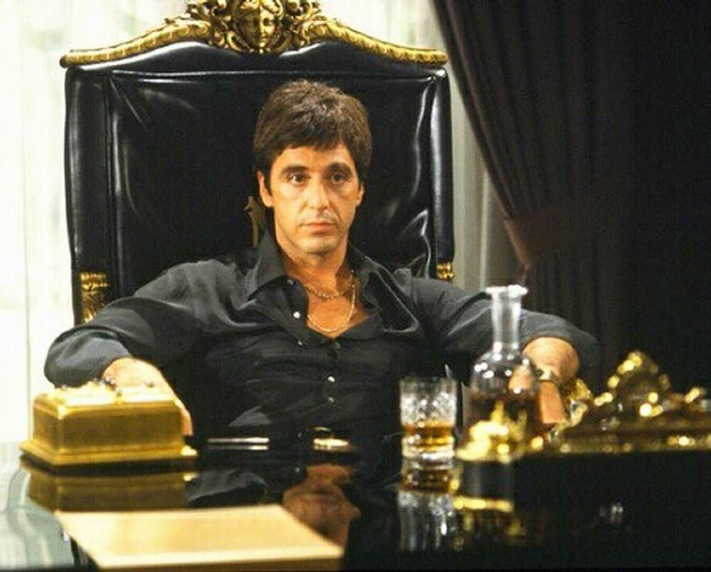 """Al Pacino in """"Scarface,"""" 1983"""