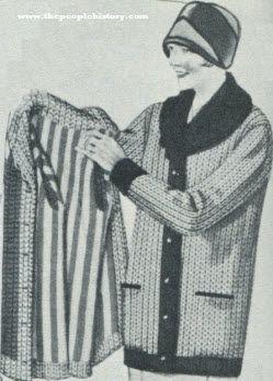 Shaker Knit Sweater 1927