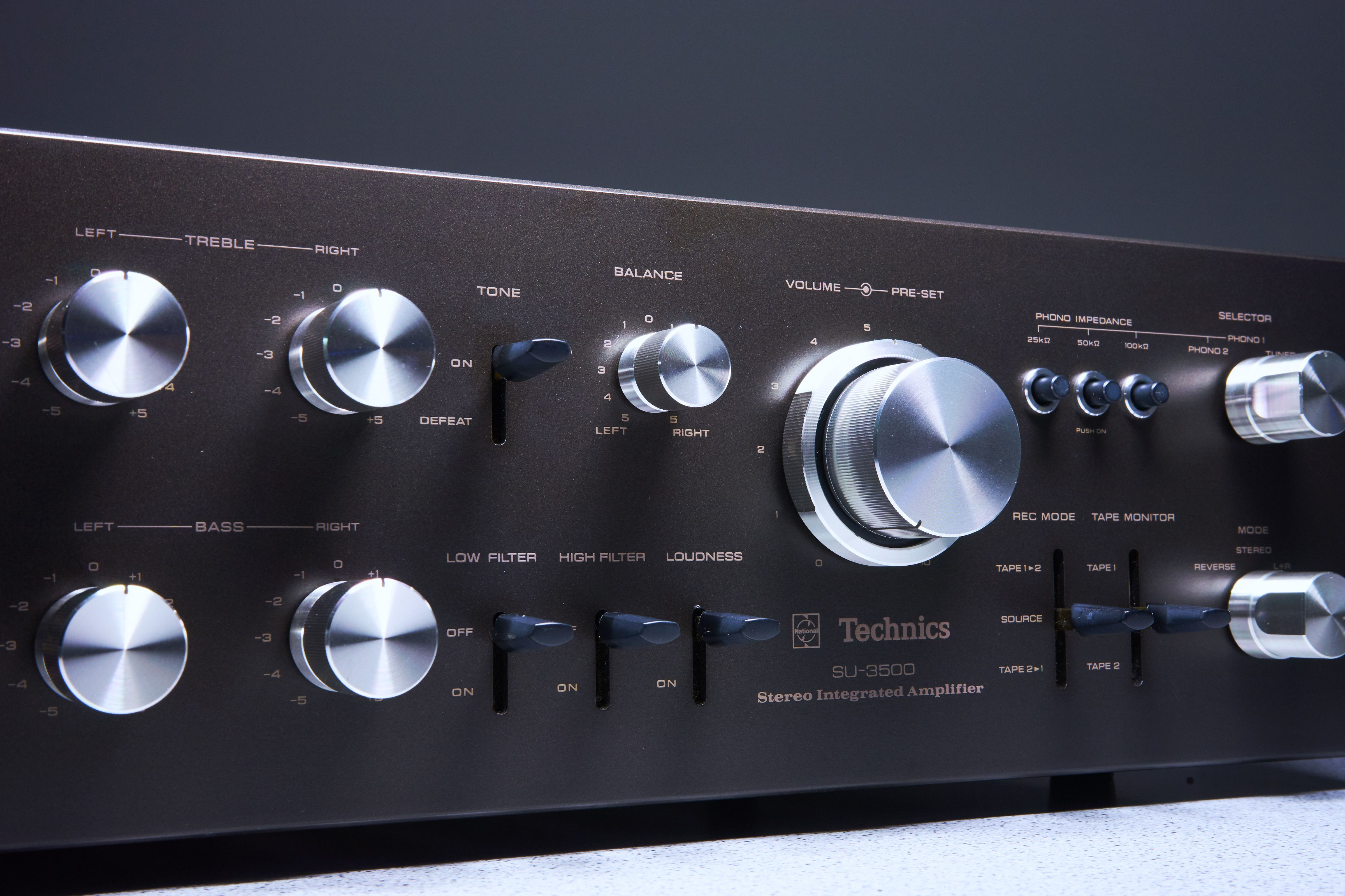 National Technics Su 3500 Stereo Amplifier Stereo Amplifier Amplifier Impedance Matching