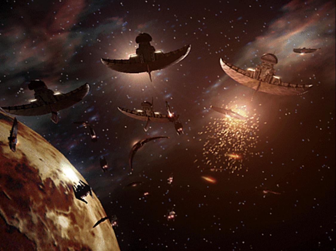 Centari Attack the Narn - Babylon 5   Collectibles - Babylon