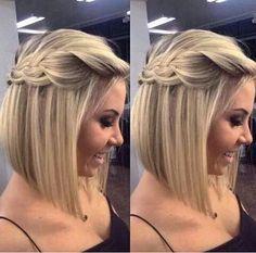 TOP 70 penteados para casamento em cabelo curto (2019)