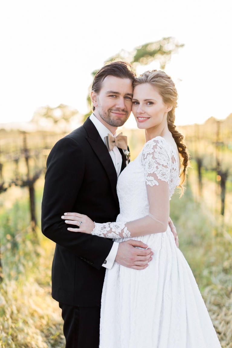 See Alyssa Campanella And Torrance Coombs S Regal Wedding Photos