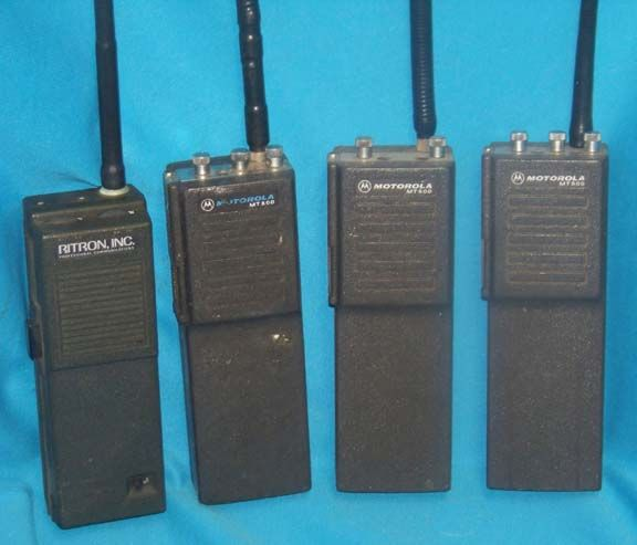 Vintage Police & Fire Radios at dcaptain com | 0005*Police