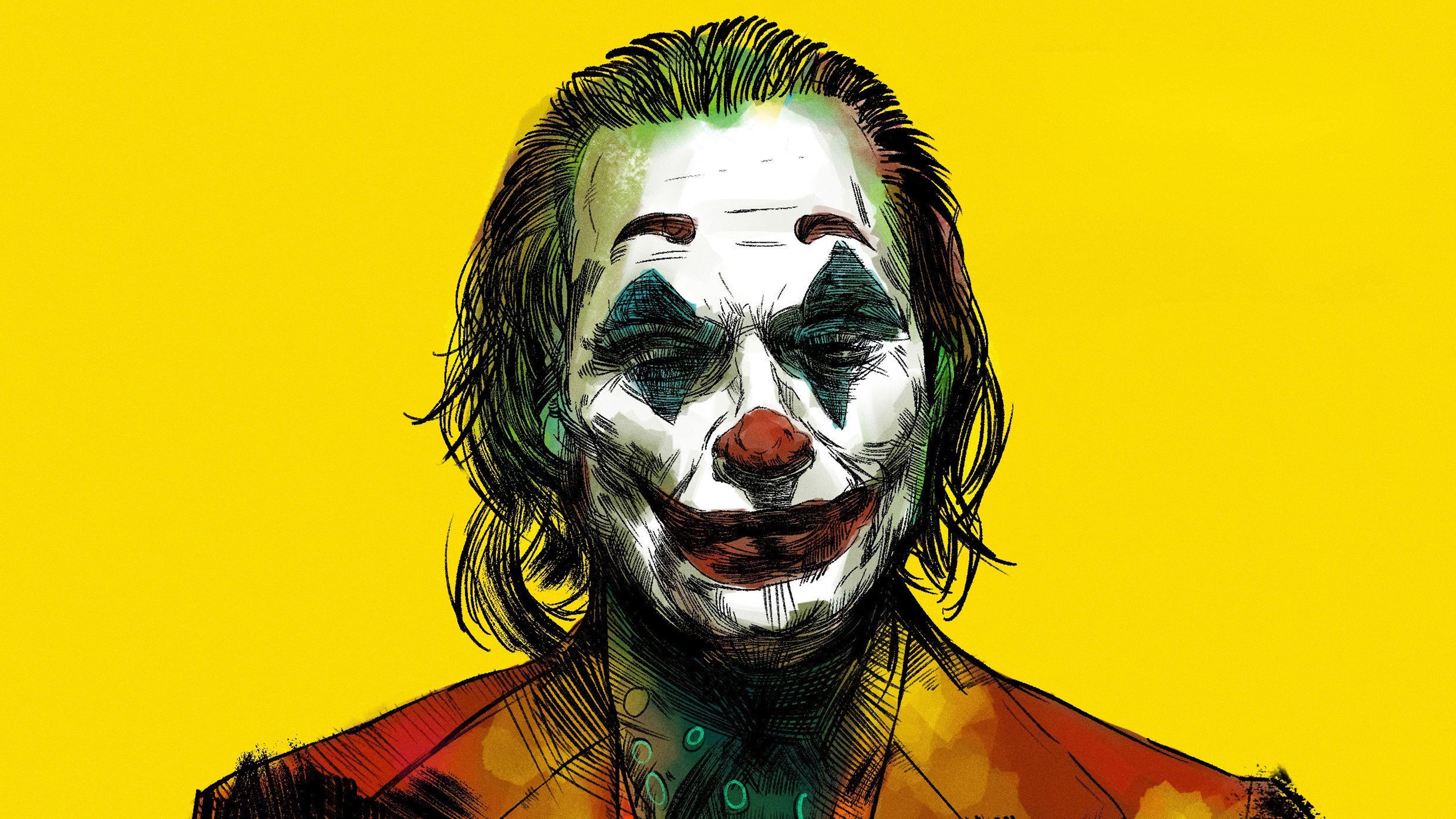 Joker Yellow Bg Hd Wallpaper Joker Images Joker Hd Wallpaper Joker Wallpapers